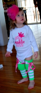 Maddie's 2nd Outfit-She's such a Diva!!!