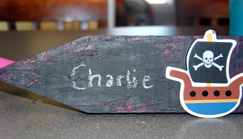 Charlie's sign
