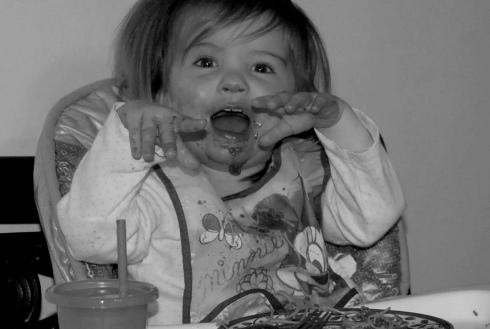 Spaghetti face