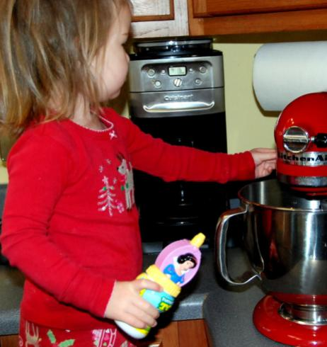 She is going to be a genius in the kitchen!