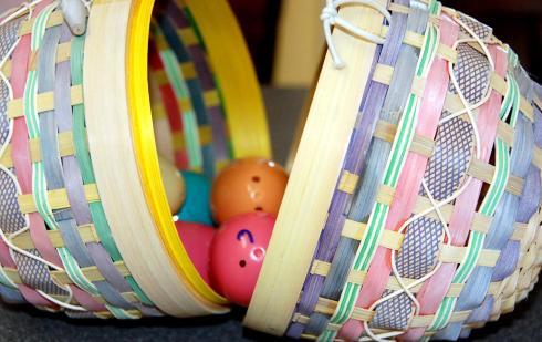 Our Resurrection eggs.