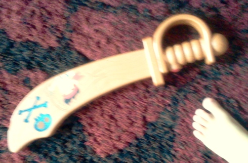 His Jake and the Neverland Pirates sword