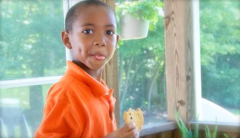 Idris started Kindergarten this week!  We will miss him!