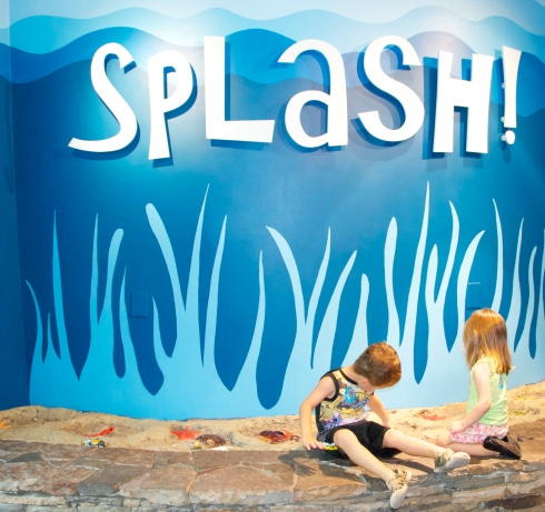 The Splash exhibit was my favorite part of the museum!