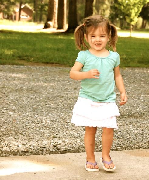 Our little princess.