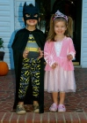 Batman and a princess for Halloween. One of the highlights of our Halloween this year was Trunk-or-treat at our church when about 150 people from our community showed up to join us! WOW! It has been so great to see God working this year.