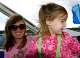 Maddie loved the ferris wheel, too.