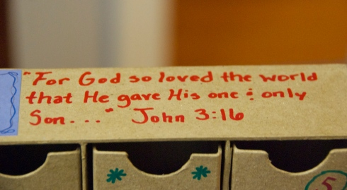 I added this verse to the top-the whole meaning of Christmas!