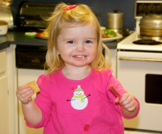 Emma-at Daddy's in Mt. Airy. Is she precious or what?