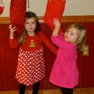 Maddie and Emma-a mischievous pair!