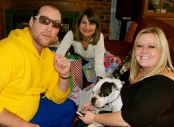Chris, Bethony, Julie, and of course Moo!