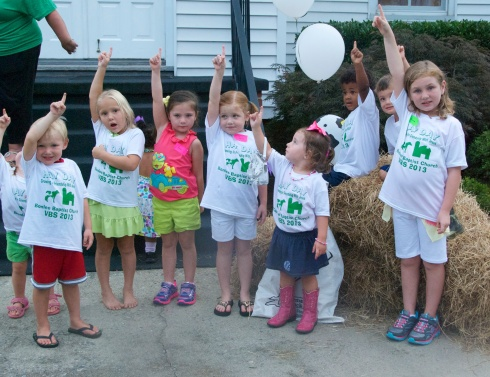 VBS at Bonlee Baptist in August was GREAT!  So much fun.  I am still not recovered, though!