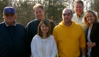 Kitten, Randy, Bethony, Chris, Luanne, and Jeff