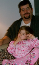 Jason and Maddie taking a rest on Christmas morning! Too cute-I just love them so much.