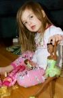 Maddie and her ballerina.