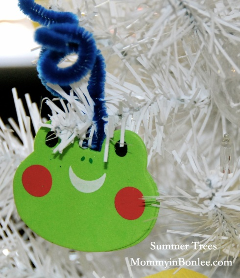 A little frog ornament for Charlie's tree.